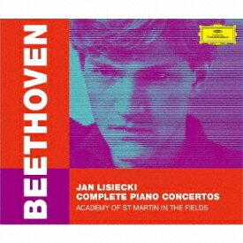 ベートーヴェン: ピアノ協奏曲全集 [SHM-CD][CD] / ヤン・リシエツキ (ピアノ)
