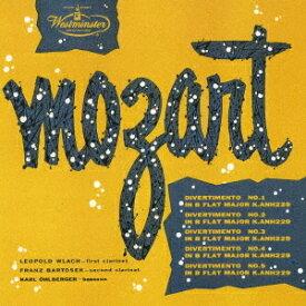 モーツァルト: 5つのディヴェルティメント [UHQCD] [限定盤][CD] / レオポルト・ウラッハ (クラリネット)
