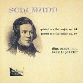 シューマン: ピアノ五重奏曲、ピアノ四重奏曲 [UHQCD] [限定盤][CD] / イェルク・デームス (ピアノ)
