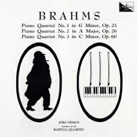 ブラームス: ピアノ四重奏曲第1番、第2番、第3番 [UHQCD] [限定盤][CD] / イェルク・デームス (ピアノ)
