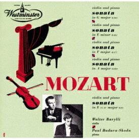 モーツァルト: ヴァイオリン・ソナタ第25番、第28番、他 [UHQCD] [限定盤][CD] / ワルター・バリリ (ヴァイオリン)