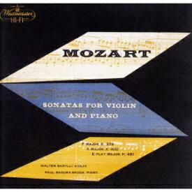 モーツァルト: ヴァイオリン・ソナタ第32番他 [UHQCD] [限定盤][CD] / ワルター・バリリ (ヴァイオリン)