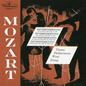 モーツァルト: ディヴェルティメント第3番、第4番、他 [UHQCD] [限定盤][CD] / ウィーン・フィルハーモニー木管グループ