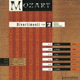 モーツァルト: ディヴェルティメント第8、9、12、13、14、16番 [UHQCD] [限定盤][CD] / ウィーン・フィルハーモニー木管グループ