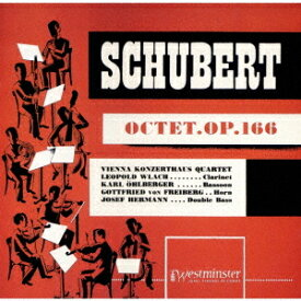 シューベルト: 八重奏曲 [UHQCD] [限定盤][CD] / ウィーン・コンツェルトハウス四重奏団