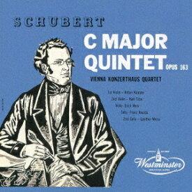 シューベルト: 弦楽五重奏曲 [UHQCD] [限定盤][CD] / ウィーン・コンツェルトハウス四重奏団