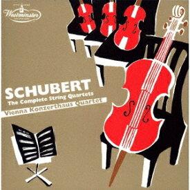 シューベルト: 弦楽四重奏全集 [UHQCD] [限定盤][CD] / ウィーン・コンツェルトハウス四重奏団