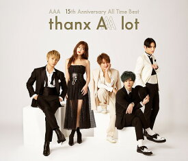 AAA 15th Anniversary All Time Best -thanx AAA lot-[CD] [通常盤] / AAA