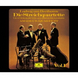 ベートーヴェン: 弦楽四重奏曲第1番-第10番 [SHM-SACD] [初回生産限定盤][SACD] / アマデウス弦楽四重奏団
