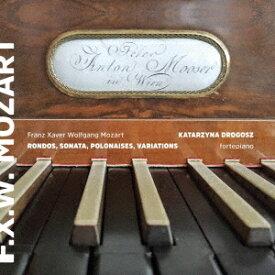 F.X.W.モーツァルト: 作品集[CD] / カタジナ・ドロゴス