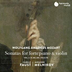 モーツァルト: ピアノとヴァイオリンのためのソナタ集[CD] vol.2 / イザベル・ファウスト