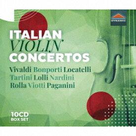 イタリアのヴァイオリン協奏曲集[CD] / クラシックオムニバス