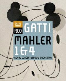 マーラー: 交響曲第1番ニ長調『巨人』 マーラー: 交響曲第4番ト長調[Blu-ray] / ダニエレ・ガッティ (指揮)