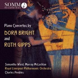 ブライト/ギップス: ピアノ協奏曲集[CD] / クラシックオムニバス