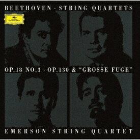 ベートーヴェン: 弦楽四重奏曲第3番・第13番 & 大フーガ[CD] [UHQCD] [限定盤] / エマーソン弦楽四重奏団