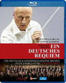 ブラームス: ドイツ・レクイエムOp.45[Blu-ray] / パーヴォ・ヤルヴィ (指揮)