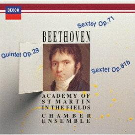 ベートーヴェン: 弦楽五重奏曲、六重奏曲[CD] [UHQCD] [限定盤] / アカデミー室内アンサンブル