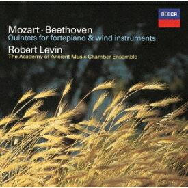 ベートーヴェン: ホルン・ソナタ、フォルテピアノと管楽のための五重奏曲、他[CD] [UHQCD] [限定盤] / ロバート・レヴィン、エンシェント室内管弦楽団アンサンブル