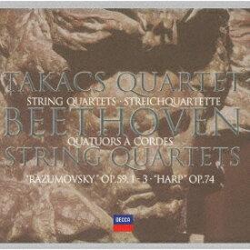 ベートーヴェン: 中期弦楽四重奏曲集 (第7〜10番)[CD] [UHQCD] [限定盤] / タカーチ弦楽四重奏団