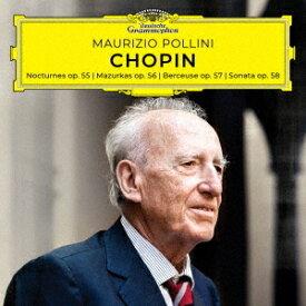 ショパン: ピアノ・ソナタ第3番、他[CD] [MQA/UHQCD] [生産限定盤] / マウリツィオ・ポリーニ (ピアノ)