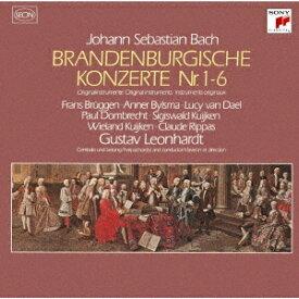 バッハ: ブランデンブルク協奏曲(全曲)[CD] / グスタフ・レオンハルト (指揮)