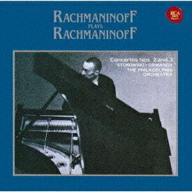 ラフマニノフ自作自演〜ピアノ協奏曲第2番&第3番[CD] / セルゲイ・ラフマニノフ (ピアノ)