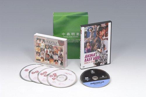 "SUPER BEST COLLECTION ""AKINA+EAST LIVE"" [4CD+DVD] / 中森明菜"