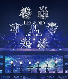 LEGEND OF 2PM in TOKYO DOME[Blu-ray] / 2PM