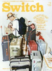 [書籍のメール便同梱は2冊まで]/Switch VOL.32NO.7 【表紙・巻頭】 NIGOR=オーダーメイドのスーツケースコレクション[本/雑誌] / スイッチ・パブリッシング