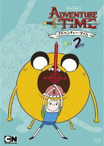 アドベンチャー・タイム シーズン2 Vol.2[DVD] / アニメ