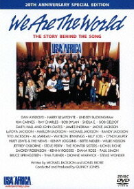We Are The World ザ・ストーリー・ビハインド・ザ・ソング - 20th アニヴァーサリー・スペシャル・エディション [30周年記念ステッカー付き期間限定生産][DVD] / オムニバス