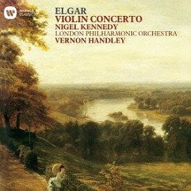 エルガー: ヴァイオリン協奏曲、序奏とアレグロ[CD] / ナイジェル・ケネディ (ヴァイオリン)