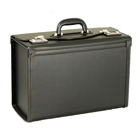 フライトケース 大型 パイロットケース メンズ 大容量 アタッシュケース 合皮レザー ダイヤルロック 鍵付き ビジネスバッグ ビジネスバッグ ビジネス アタッシュ 出張 営業鞄 紳士用 男性用 鞄 b4 B4 46cm 黒