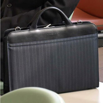 Made in Japan-toyooka bag Briefcase mens Briefcase stripe black A4 37 cm nylon brief bag bags business bag briefs business men's men's men's bags, bags, bags