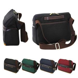 ショルダーバッグ メンズ 日本製 豊岡製鞄 豊岡 かばん ショルダーバッグ 斜めがけ メッセンジャーバッグ 超強力ナイロン ビートテックス使用 ノマドワーカー・カメラバッグ