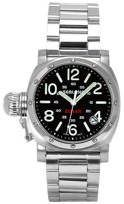 シーレーン 腕時計 SEALANE SE36-MBK