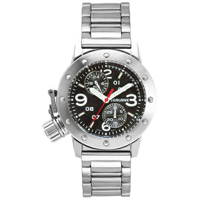 シーレーン 腕時計 SEALANE SE41-MBK