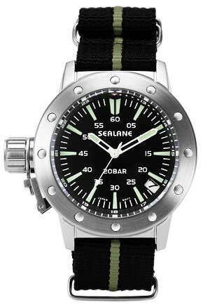 シーレーン 腕時計 SEALANE SE42-NYBK