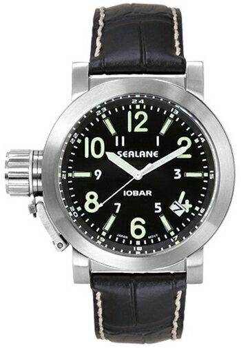 シーレーン 腕時計 SEALANE SE43-LBK