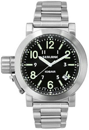 シーレーン 腕時計 SEALANE SE43-MBK