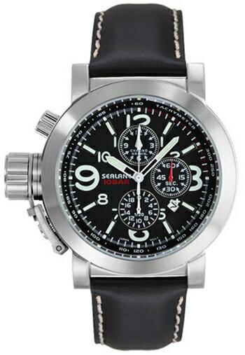 シーレーン 腕時計 SEALANE SE44-LBK