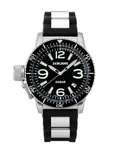 シーレーン 腕時計 SEALANE SE57-PBK
