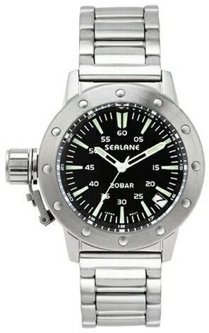 シーレーン 腕時計 SEALANE SE42-MBK