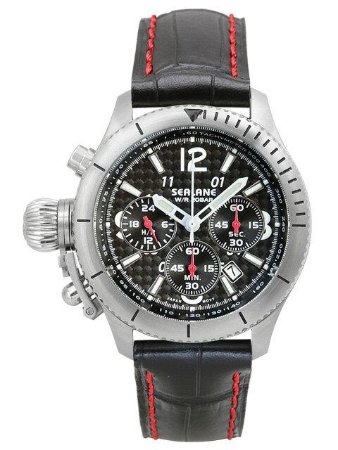 シーレーン 腕時計 SEALANE SE47-LBK