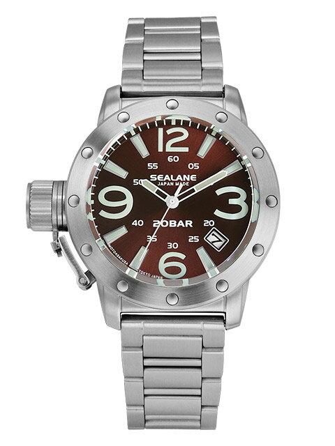 シーレーン 腕時計 日本製 SEALANE SEJ011-MBR