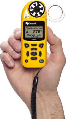 気象メーター/風速計、風向計、温度計、湿度計、気圧計、高度計 ケストレル5500LiNK(kestrel5500LiNK)(データ無線転送対応機種)回転ベーンマウント&キャリーケース付