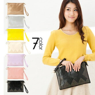 Stylish 3-Way clutch bag 7 color ingredients