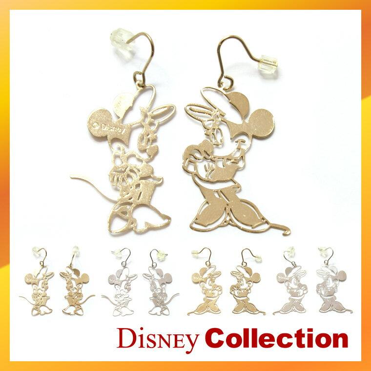 【 送料無料 】ディズニー 公式 ミニー マウス ピアス アクセサリー 2タイプ 2カラー tdm バレンタイン