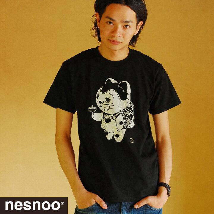 【新柄入替品】駒犬くん 和柄Tシャツ