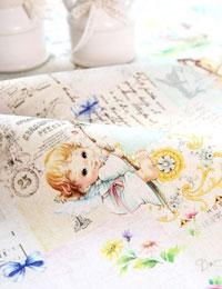 【リネン】Little_Angel(リトルエンジェル)カットクロス